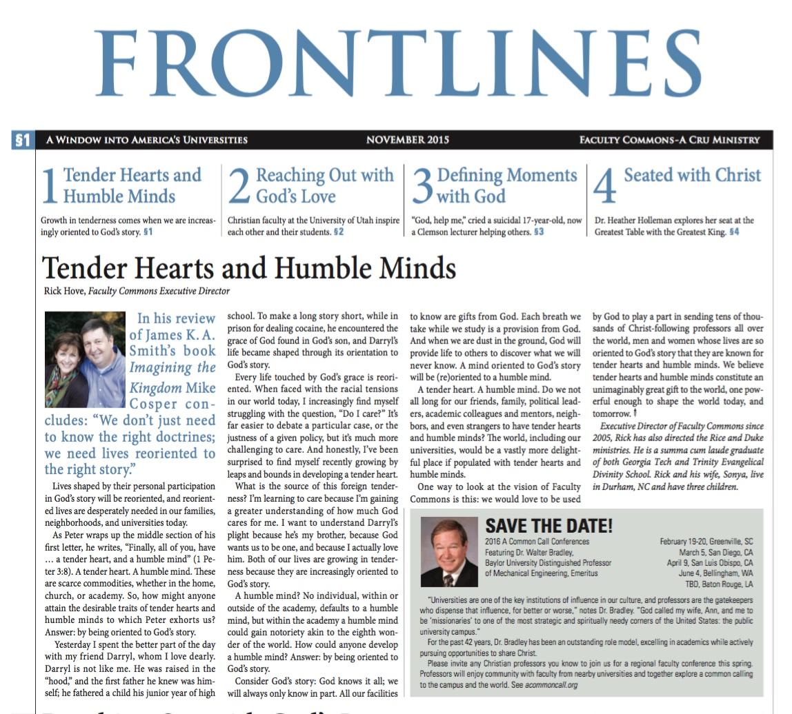 Nov 2015 Frontlines